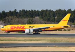 NINEJETSさんが、成田国際空港で撮影したアエロ・ロジック 777-Fの航空フォト(飛行機 写真・画像)