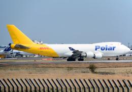 NINEJETSさんが、成田国際空港で撮影したポーラーエアカーゴ 747-46NF/SCDの航空フォト(飛行機 写真・画像)