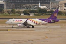 磐城さんが、ドンムアン空港で撮影したタイ・スマイル A320-232の航空フォト(飛行機 写真・画像)