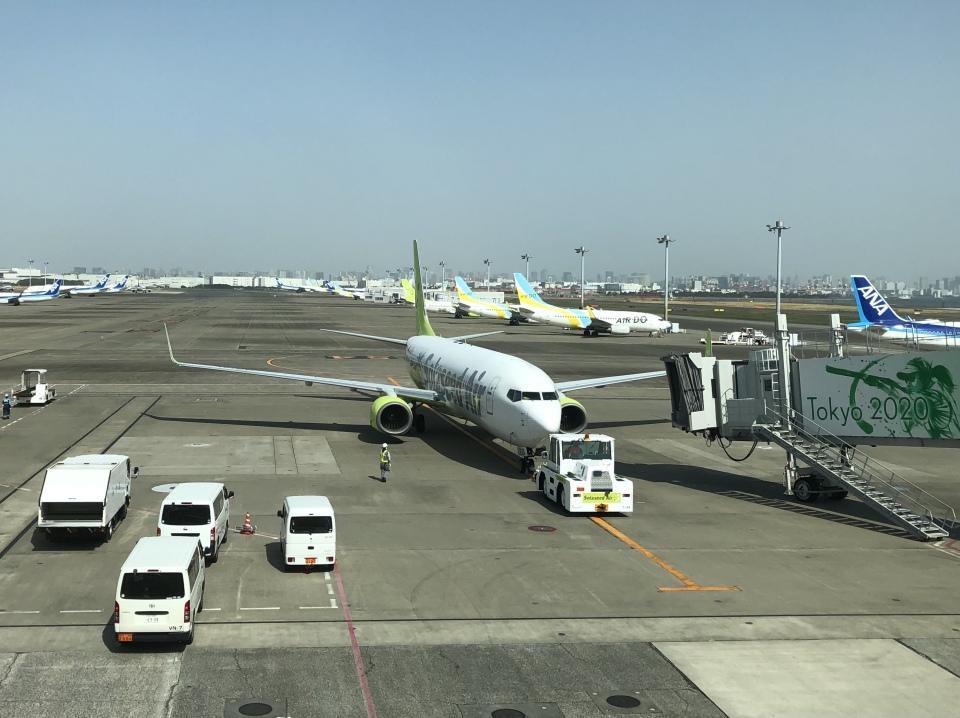 Smyth Newmanさんのソラシド エア Boeing 737-800 (JA812X) 航空フォト