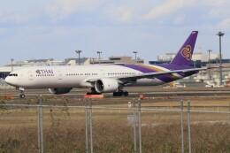 walker2000さんが、成田国際空港で撮影したタイ国際航空 777-3D7/ERの航空フォト(飛行機 写真・画像)