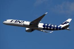 simokさんが、成田国際空港で撮影したフィンエアー A350-941の航空フォト(飛行機 写真・画像)