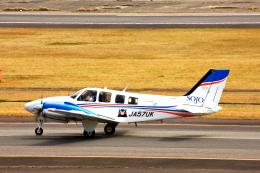 kiyochanさんが、大分空港で撮影した崇城大学 G58 Baronの航空フォト(飛行機 写真・画像)