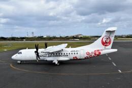 こじゆきさんが、与論空港で撮影した日本エアコミューター ATR-42-600の航空フォト(飛行機 写真・画像)