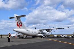 こじゆきさんが、徳之島空港で撮影した日本エアコミューター ATR-42-600の航空フォト(飛行機 写真・画像)