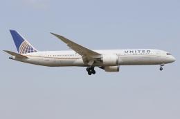 知希(仮)さんが、成田国際空港で撮影したユナイテッド航空 787-9の航空フォト(飛行機 写真・画像)