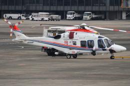 B14A3062Kさんが、伊丹空港で撮影した朝日新聞社 AW169の航空フォト(飛行機 写真・画像)