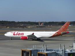 不揃いさんが、成田国際空港で撮影したタイ・ライオン・エア A330-343Xの航空フォト(飛行機 写真・画像)