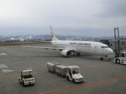 ヒロリンさんが、旭川空港で撮影した日本航空 737-846の航空フォト(飛行機 写真・画像)