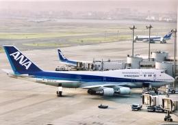 mahiちゃんさんが、羽田空港で撮影した全日空 747-481(D)の航空フォト(飛行機 写真・画像)