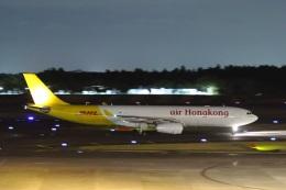 宮崎 育男さんが、成田国際空港で撮影したエアー・ホンコン A330-343(P2F)の航空フォト(飛行機 写真・画像)