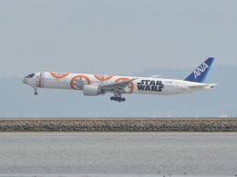 小弦さんが、サンフランシスコ国際空港で撮影した全日空 777-381/ERの航空フォト(飛行機 写真・画像)