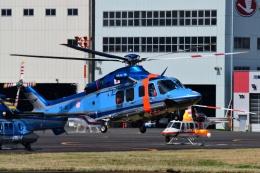 Mizuki24さんが、東京ヘリポートで撮影した警視庁 AW139の航空フォト(飛行機 写真・画像)