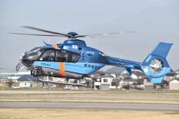 とびたさんが、福井空港で撮影した福井県警察 EC135T2+の航空フォト(飛行機 写真・画像)
