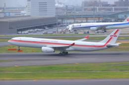 ぼのさんが、羽田空港で撮影したガルーダ・インドネシア航空 A330-343Xの航空フォト(飛行機 写真・画像)