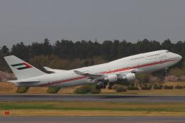 た~きゅんさんが、成田国際空港で撮影したドバイ・ロイヤル・エア・ウィング 747-433Mの航空フォト(飛行機 写真・画像)