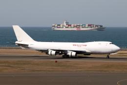 なごやんさんが、中部国際空港で撮影したカリッタ エア 747-4B5F/SCDの航空フォト(飛行機 写真・画像)