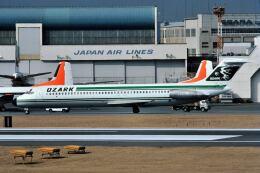 パール大山さんが、羽田空港で撮影したオザーク・エアラインズ DC-9-41の航空フォト(飛行機 写真・画像)