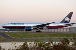リゾッチャ(紫)さんが、成田国際空港で撮影したアエロメヒコ航空 777-2Q8/ERの航空フォト(飛行機 写真・画像)