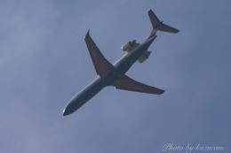 kazucamさんが、広島空港で撮影したアイベックスエアラインズ CL-600-2C10 Regional Jet CRJ-702の航空フォト(飛行機 写真・画像)