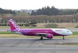 ハム太郎。さんが、成田国際空港で撮影したピーチ A320-214の航空フォト(飛行機 写真・画像)