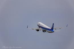 kazucamさんが、広島空港で撮影した全日空 A321-272Nの航空フォト(飛行機 写真・画像)