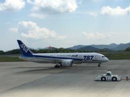 kazucamさんが、広島空港で撮影した全日空 787-8 Dreamlinerの航空フォト(飛行機 写真・画像)