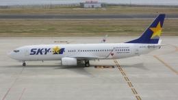 cathay451さんが、神戸空港で撮影したスカイマーク 737-8ALの航空フォト(飛行機 写真・画像)