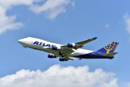 kotaちゃんさんが、成田国際空港で撮影したアトラス航空 747-412F/SCDの航空フォト(飛行機 写真・画像)