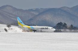 Dojalanaさんが、函館空港で撮影したAIR DO 737-781の航空フォト(飛行機 写真・画像)