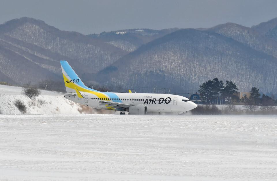 DojalanaさんのAIR DO Boeing 737-700 (JA14AN) 航空フォト
