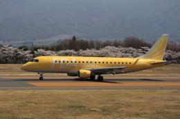 Musondaさんが、松本空港で撮影したフジドリームエアラインズ ERJ-170-200 (ERJ-175STD)の航空フォト(飛行機 写真・画像)
