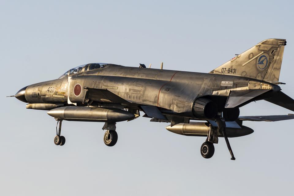 Flankerさんの航空自衛隊 Mitsubishi F-4EJ Kai Phantom II (07-8431) 航空フォト