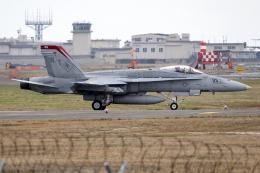 Flankerさんが、岩国空港で撮影したアメリカ海兵隊 F/A-18C Hornetの航空フォト(飛行機 写真・画像)