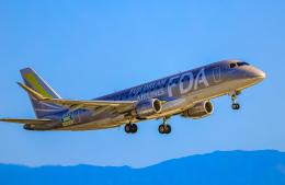 航空フォト:JA10FJ フジドリームエアラインズ E175