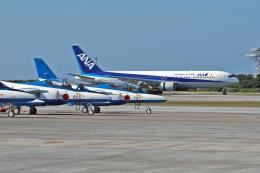 スカルショットさんが、那覇空港で撮影した全日空 767-381/ERの航空フォト(飛行機 写真・画像)