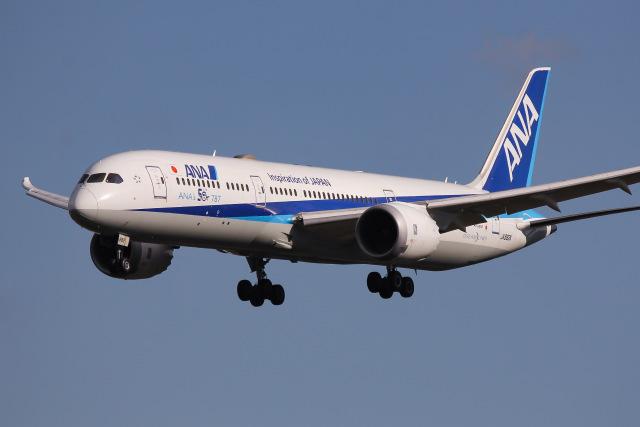 航空フォト:JA882A 全日空