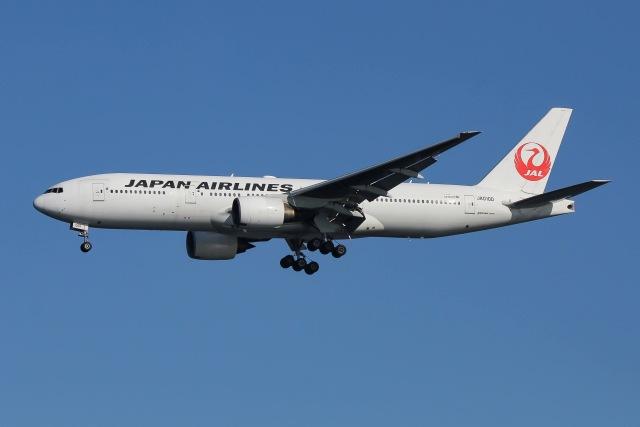航空フォト:JA010D 日本航空 777-200