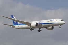 maverickさんが、成田国際空港で撮影した全日空 787-9の航空フォト(飛行機 写真・画像)