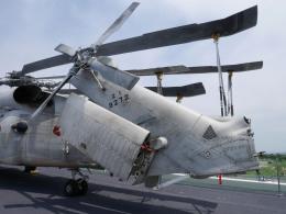 れぐぽよさんが、護衛艦かがで撮影した海上自衛隊 SH-60Jの航空フォト(飛行機 写真・画像)