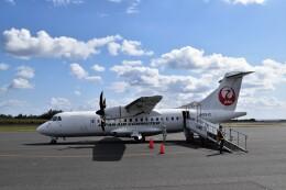 こじゆきさんが、沖永良部空港で撮影した日本エアコミューター ATR-42-600の航空フォト(飛行機 写真・画像)