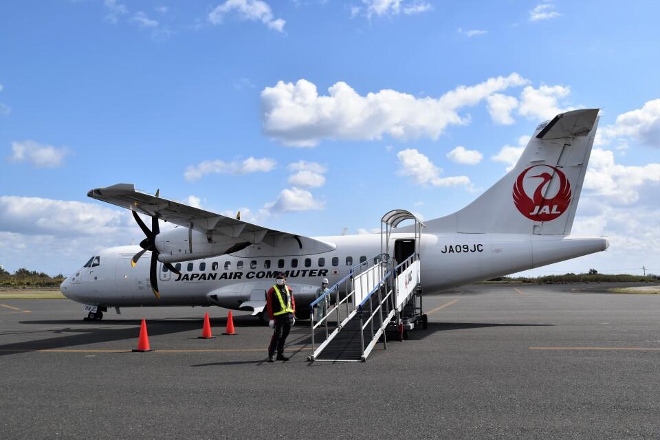 こじゆきさんの日本エアコミューター ATR 42 (JA09JC) 航空フォト