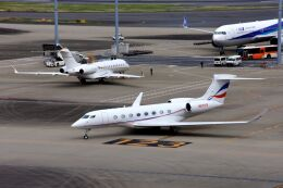 まいけるさんが、羽田空港で撮影したウィルミントン・トラスト・カンパニー G650 (G-VI)の航空フォト(飛行機 写真・画像)