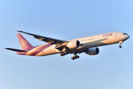 kotaちゃんさんが、成田国際空港で撮影したタイ国際航空 777-3D7/ERの航空フォト(飛行機 写真・画像)