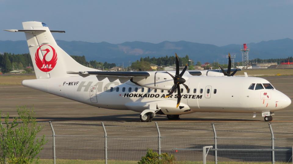 KT 327@KOJさんの北海道エアシステム ATR 42 (F-WKVF) 航空フォト