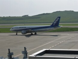 もぐ3さんが、福島空港で撮影したエアーニッポン A320-211の航空フォト(飛行機 写真・画像)