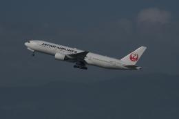 あさかぜみずほさんが、福岡空港で撮影した日本航空 777-246の航空フォト(飛行機 写真・画像)