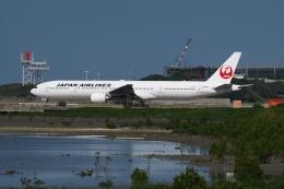 あさかぜみずほさんが、那覇空港で撮影した日本航空 777-346の航空フォト(飛行機 写真・画像)