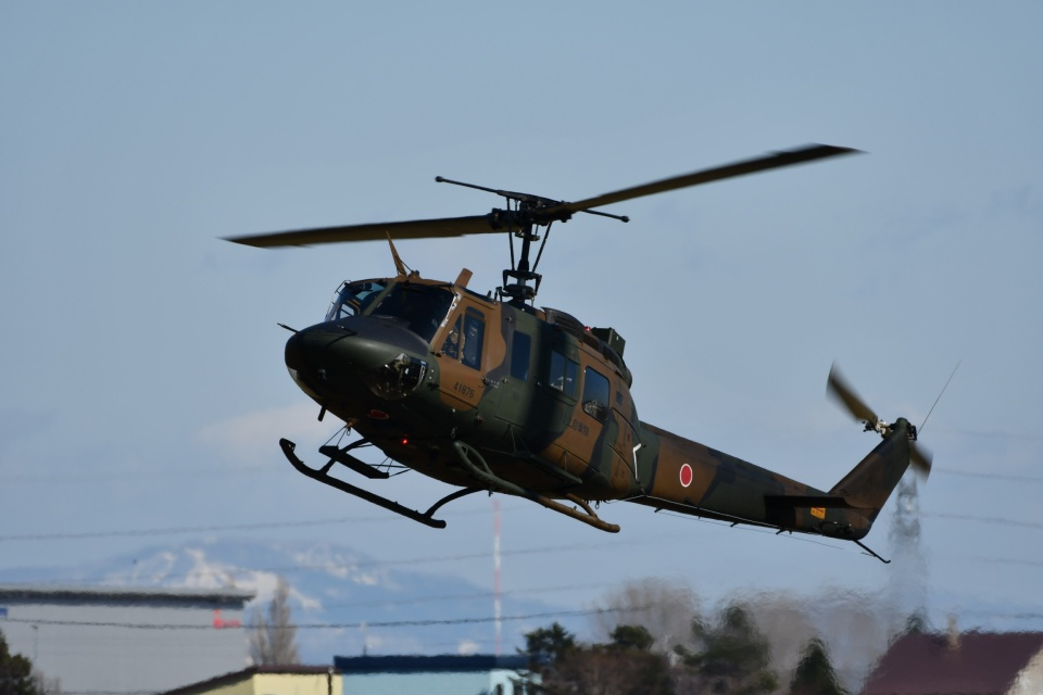 YOSANさんの陸上自衛隊 Fuji UH-1J (41876) 航空フォト