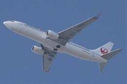 BOEING737MAX-8さんが、自宅付近で撮影で撮影した日本航空 737-846の航空フォト(飛行機 写真・画像)